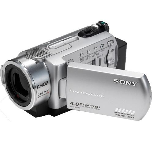 DCRSR200C Hard Disk Drive Camcorder - 100Gb