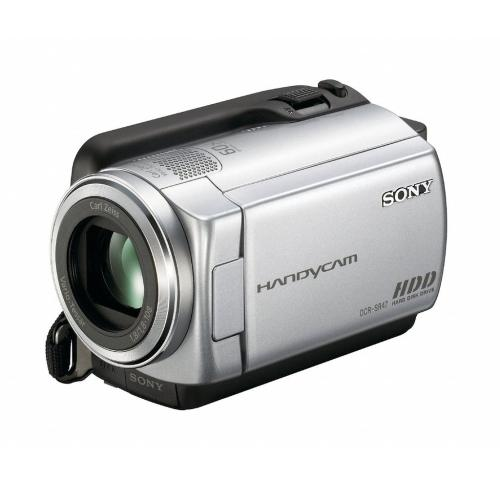 DCRSR47 60Gb Hdd Camcorder W/ 60X Optical Zoom; Silver