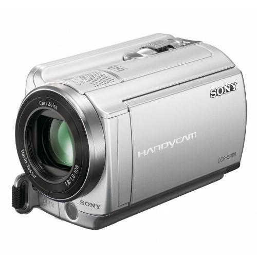 DCRSR68 Hard Disk Drive Handycam Camcorder; Silver