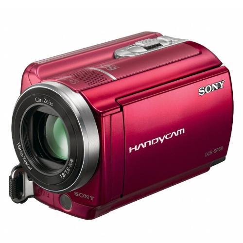 DCRSR68/R Hard Disk Drive Handycam Camcorder; Red