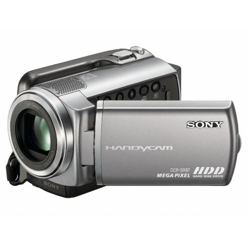 DCRSR87 80Gb Hdd Camcorder With 1Mp Ccd Imager