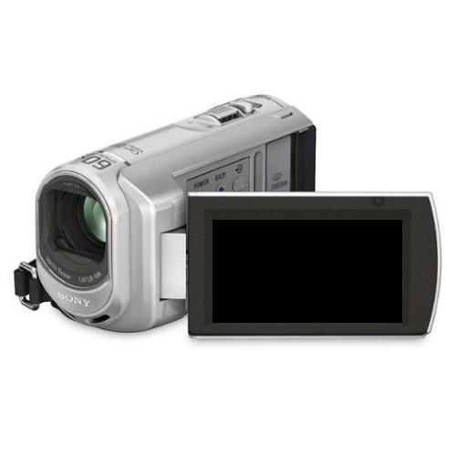 DCRSX40 Palm-sized Camcorder W/ 60X Optical Zoom; Silver