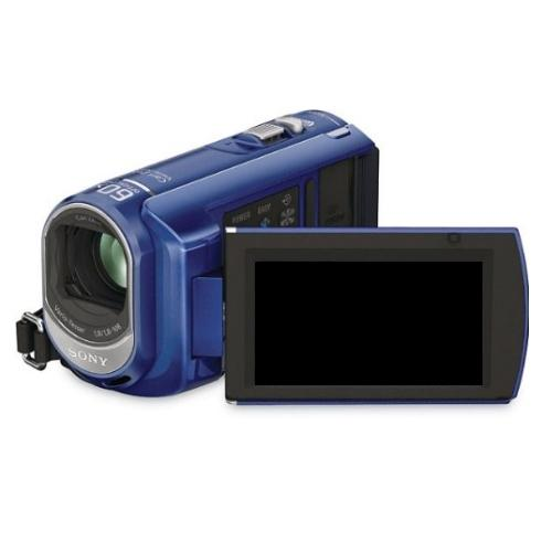DCRSX40/L Palm-sized Camcorder W/ 60X Optical Zoom; Blue