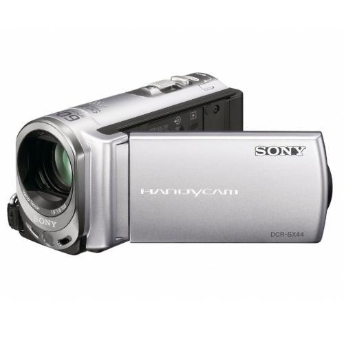 DCRSX44 Flash Memory Handycam Camcorder; Silver