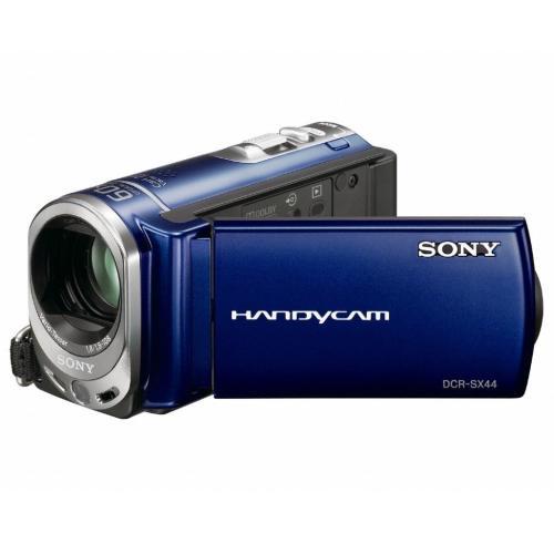 DCRSX44/L Flash Memory Handycam Camcorder; Blue