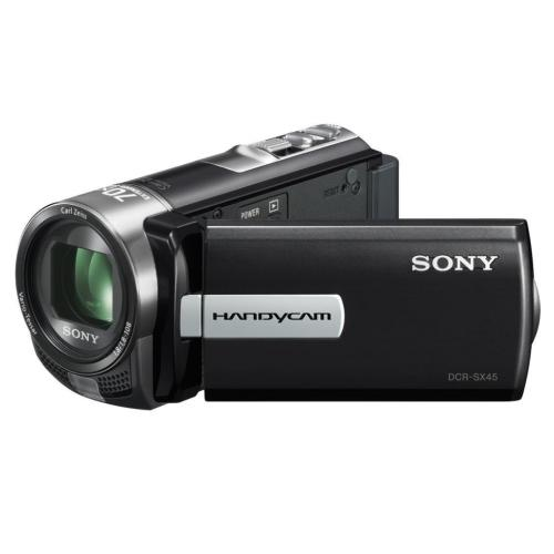 DCRSX45/B Standard Definition Handycam Camcorder; Black