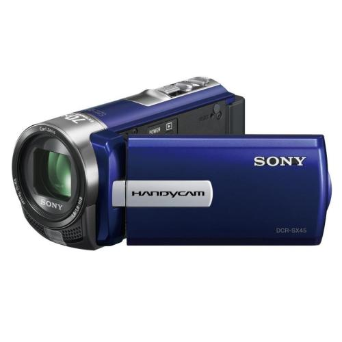 DCRSX45/L Standard Definition Handycam Camcorder; Blue