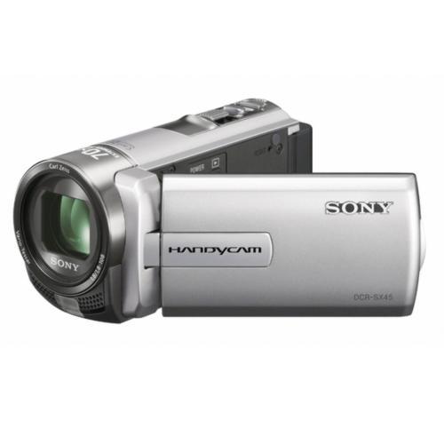 DCRSX45/S Standard Definition Handycam Camcorder; Silver