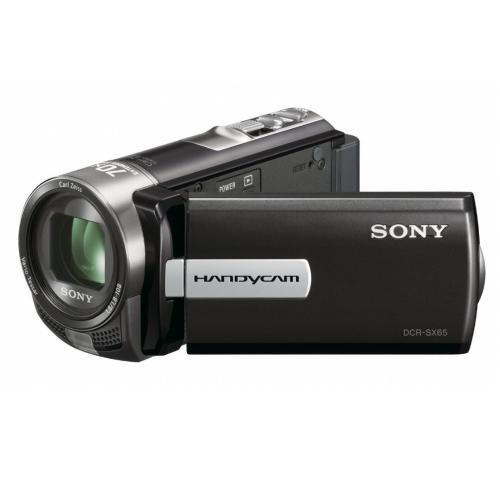 DCRSX65/B Standard Definition Handycam Camcorder; Black