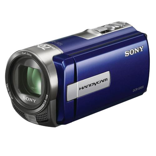DCRSX65/L Standard Definition Handycam Camcorder; Blue
