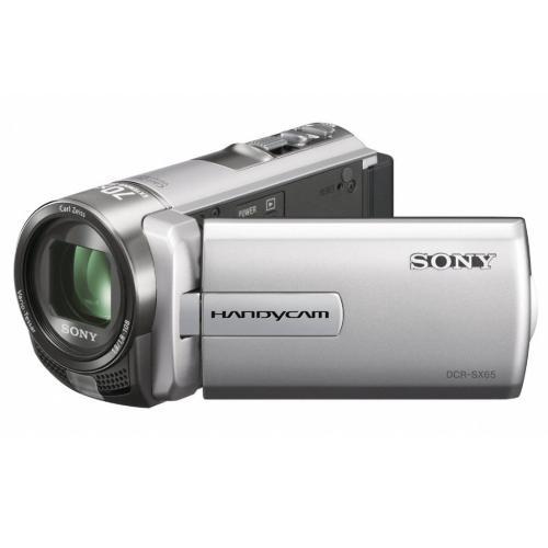 DCRSX65/S Standard Definition Handycam Camcorder; Silver