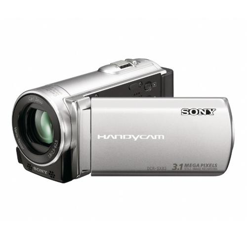 DCRSX83 Ultra-compact Camcorder W/ 16Gb Flash Memory; Silver