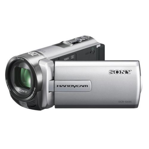 DCRSX85/S Standard Definition Handycam Camcorder; Silver