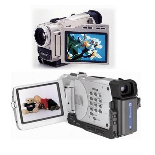 DCRTRV10 Digital Video Camera Recorder; Minidv