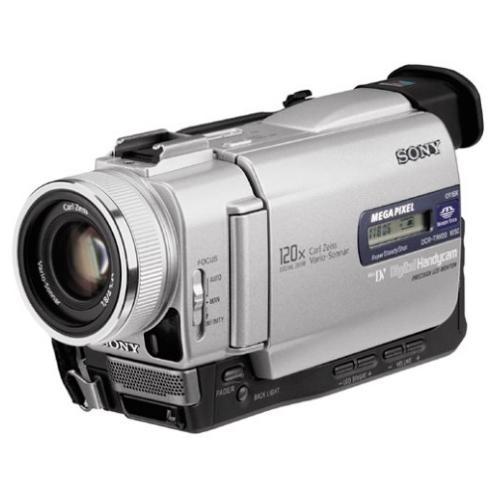 DCRTRV20 Digital Video Camera Recorder Minidv
