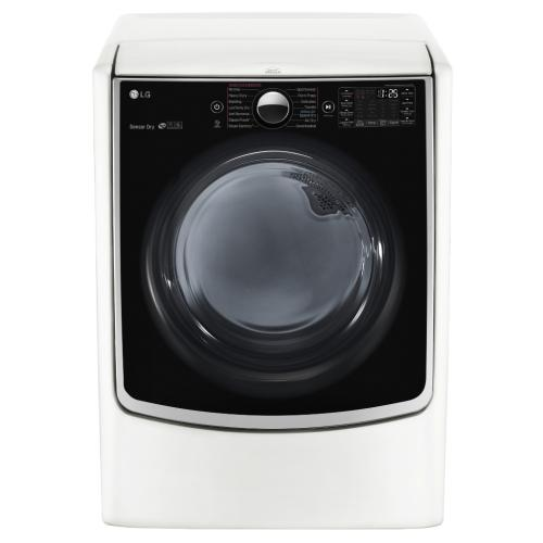 DLEX5000W 7.4 Cu. Ft Electric Dryer With Steam In Graphite Steel
