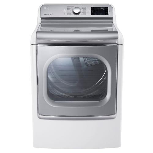 DLEX7700WE 9.0 Cu. Ft. Mega Capacity Turbosteam Electric Dryer