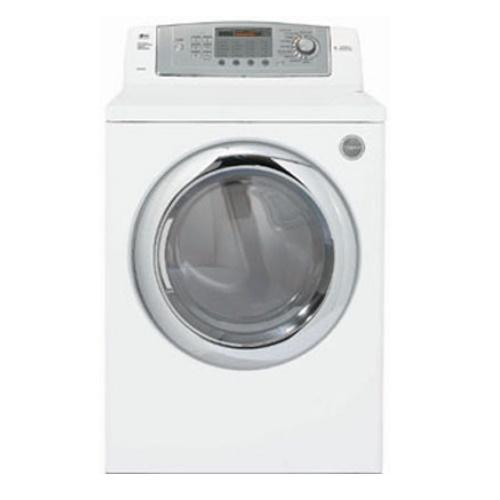 DLG0452W Large Capacity Gas Dryer With 9 Drying Programs (White)
