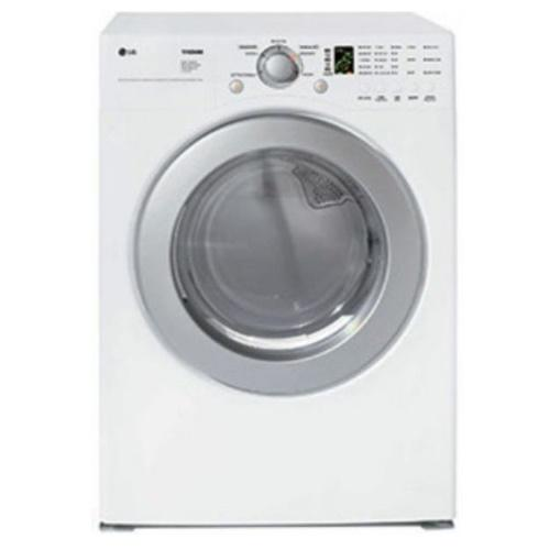 DLG2526W Gas Dryer With 5 Drying Programs (White)