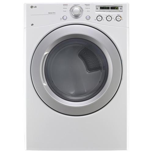 DLG3051W 7.3 Cu. Ft. Ultra Large Capacity Dryer With Dual Led Display (Gas)