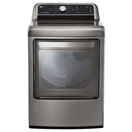 DLG7201VE 7.3 Cu. Ft. Smart Wi-fi Enabled Gas Dryer With Sensor Dry
