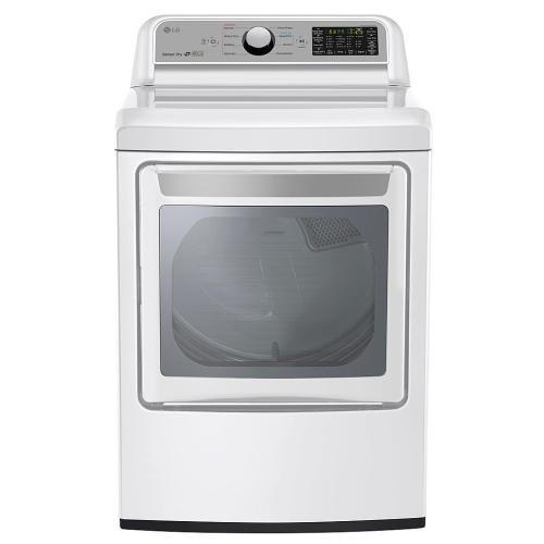 DLG7201WE 7.3 Cu. Ft. Smart Wi-fi Enabled Gas Dryer With Sensor Dry