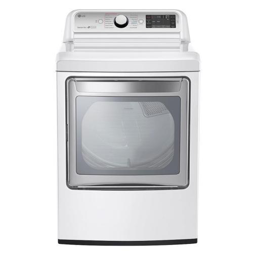 DLGX7601WE 7.3 Cu. Ft. Ultra Large Capacity Turbosteam Gas Dryer