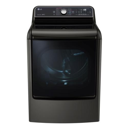 DLGX7701KE 9.0 Cu. Ft. Mega Capacity Turbosteam Gas Dryer With Easyload