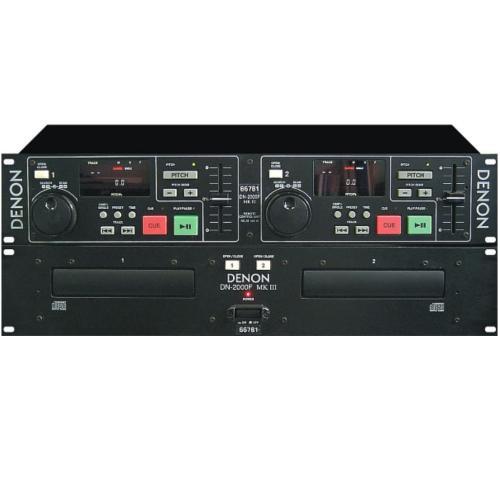 DN2000FMKII Dn-2000fmkii - Dual Cd Player