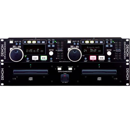 DND4000 Dn-d4000 - Pro Dual Cd/mp3 Player