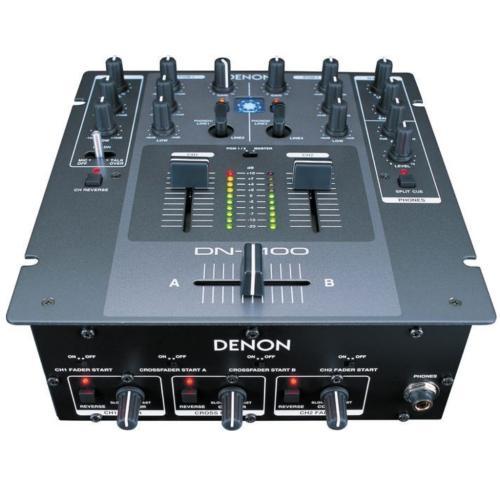 DNX100 Dn-x100 - Professional 2 Channel Dj Mixer