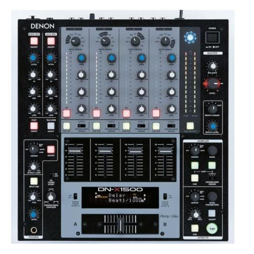 DNX1500 Dn-x1500 - Professional 4 Channel Digital Mixer