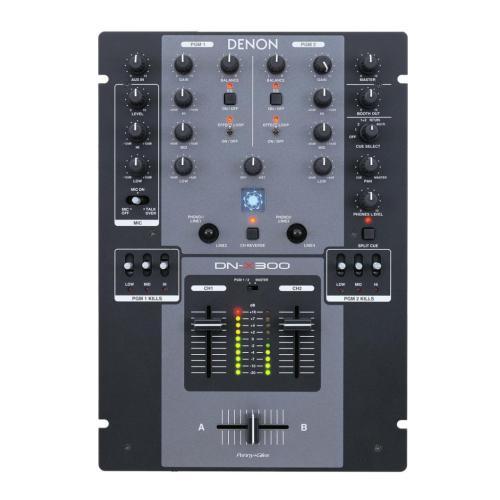 DNX300 Dn-x300 - Professional 2 Channel Dj Mixer