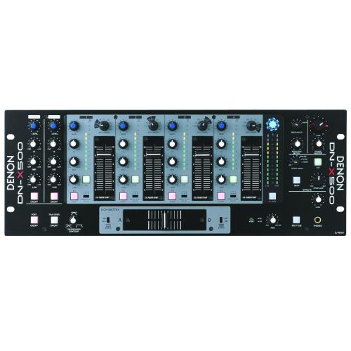 DNX500 8 Channel Analog Mixer Rackmount