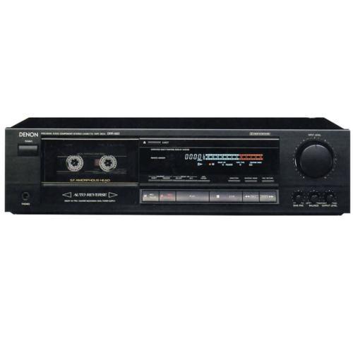 DRR680 Drr-680 - Stereo Cassette Tape Deck