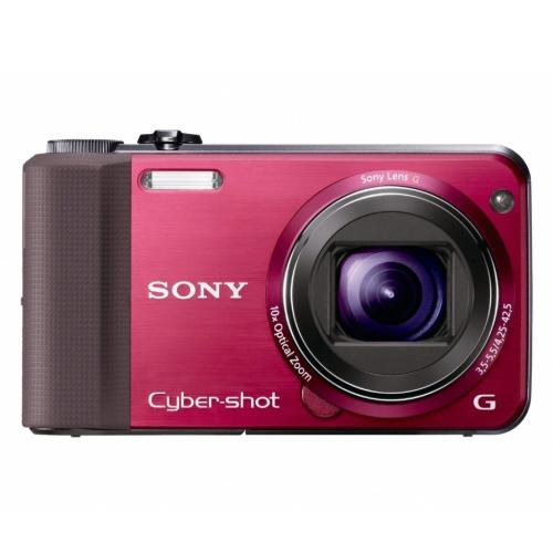 DSCHX7V/R Cyber-shot Digital Still Camera; Red