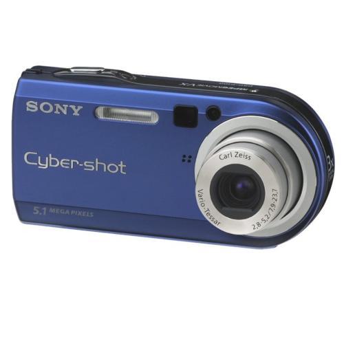 DSCP100/LJ Cyber-shot Camera; Blue