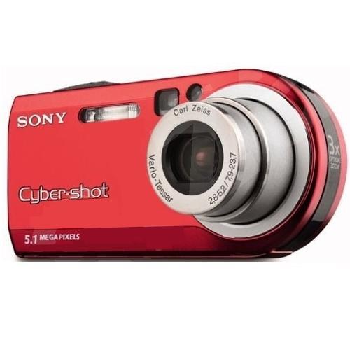 DSCP100/R Cyber-shot Camera; Red
