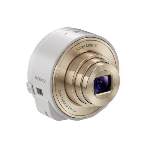 DSCQX10/W Smartphone Attachable Lens-style Camera; White