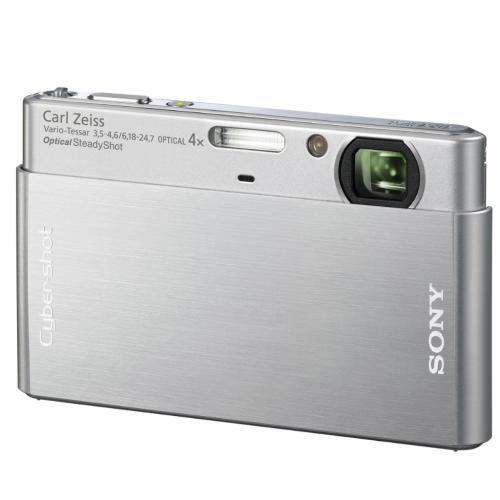 DSCT77 Cyber-shot Digital Still Camera; Silver