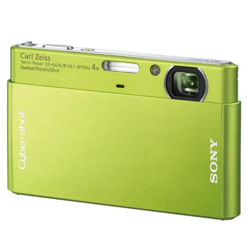 DSCT77/G Cyber-shot Digital Still Camera; Green
