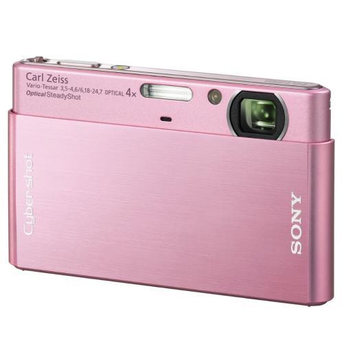 DSCT77/P Cyber-shot Digital Still Camera; Pink