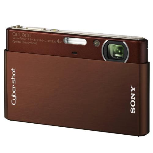DSCT77/T Cyber-shot Digital Still Camera; Brown
