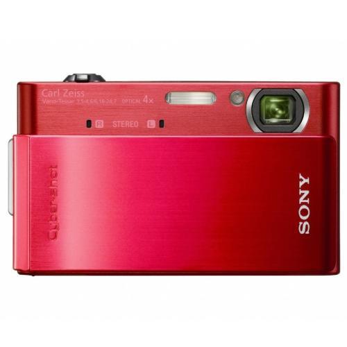 DSCT900/R Cyber-shot Digital Still Camera; Red