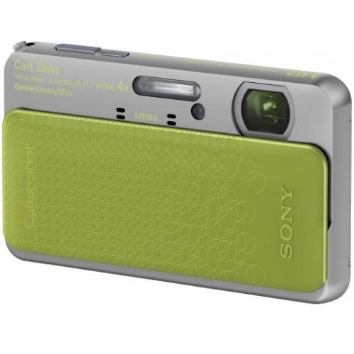 DSCTX5/G Cyber-shot Digital Still Camera; Green