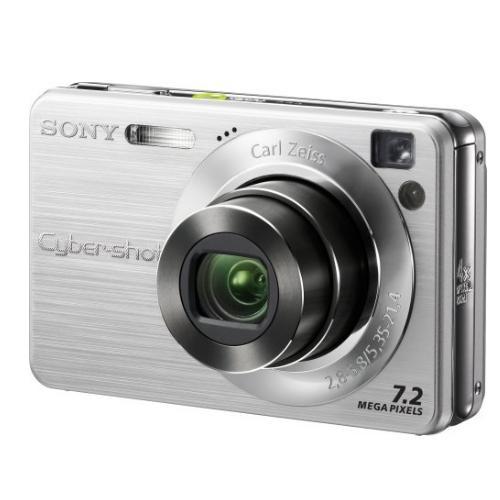 DSCW120 Cyber-shot Digital Still Camera; Silver