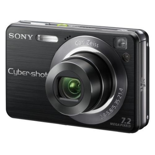 DSCW120/B Cyber-shot Digital Still Camera; Black