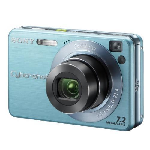 DSCW120/L Cyber-shot Digital Still Camera; Light Blue