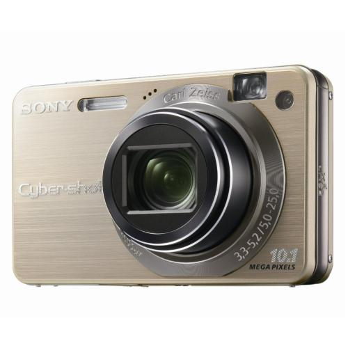 DSCW170/G Cyber-shot Digital Still Camera; Gold