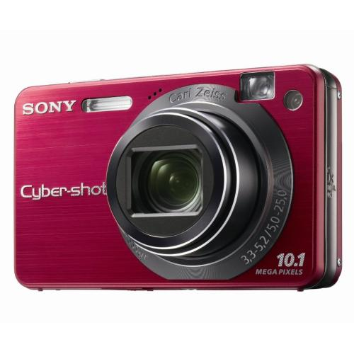 DSCW170/R Cyber-shot Digital Still Camera; Red